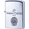 SIMON CARTER/ZP‐SCP‐042 スカルメタルスワロフスキーSA/ペンギンライター