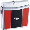 スピットファイヤーTYPE01/SPF‐1004 ダイアシルバー赤黒SPFロゴ/ウインドミル