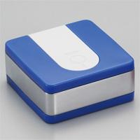 灰皿/WMXスクエア携帯灰皿/WA01‐0003 ブルー/ウインドミル