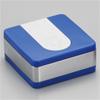 WMXスクエア携帯灰皿/WA01‐0003 ブルー/ウインドミル
