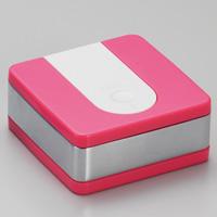 灰皿/WMXスクエア携帯灰皿/WA01‐0004 ピンク/ウインドミル