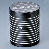 灰皿/ハニカムボーダー柄卓上灰皿/595‐1000/ウインドミル